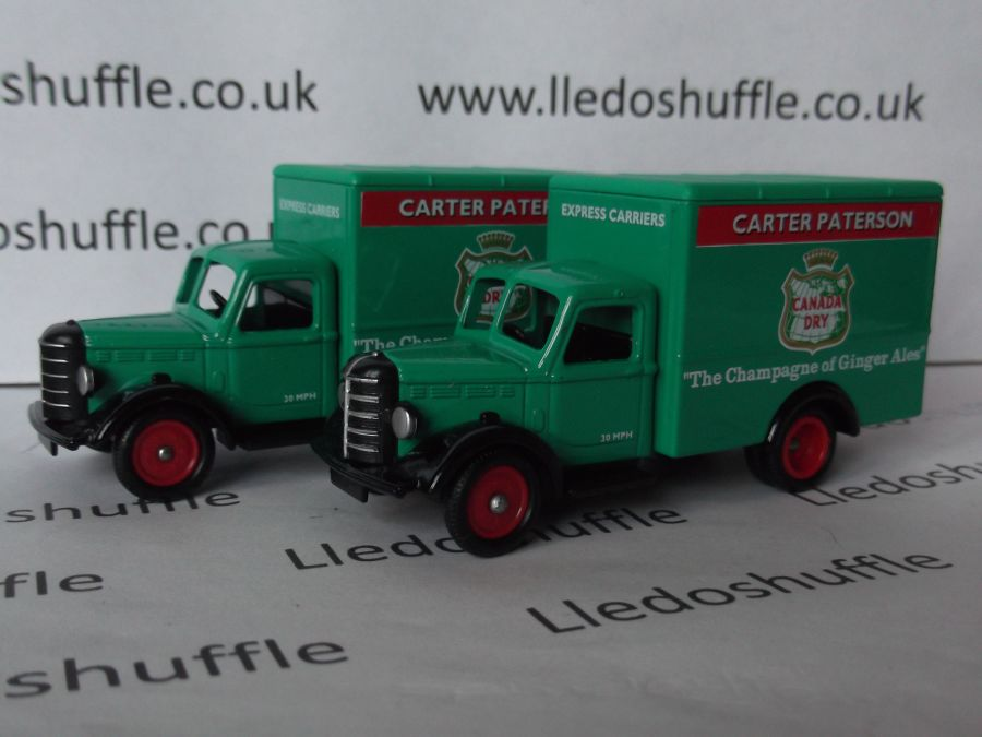 DG59001a, Bedford 30cwt Truck, Canada Dry, Carter Paterson