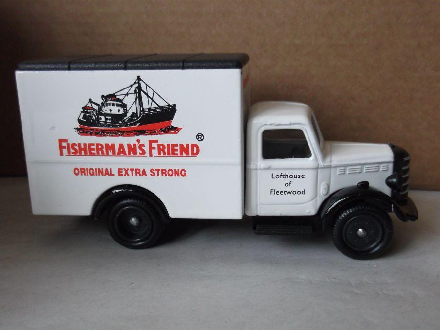 DG59027, Bedford 30cwt Truck, Fishermans Friend