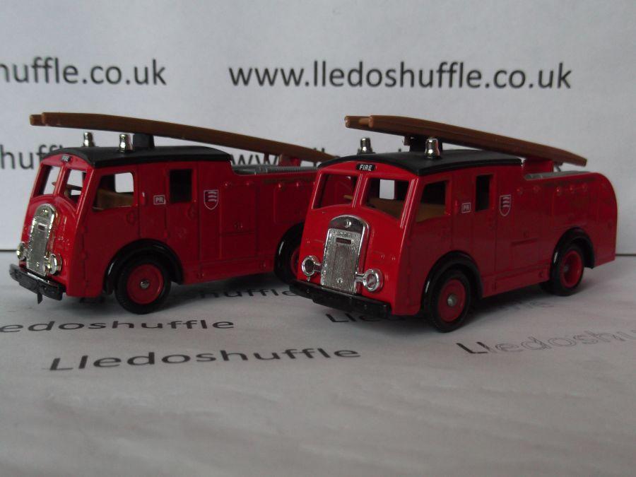 DG60000, Dennis F8 Fire Engine, Essex County Fire Brigade