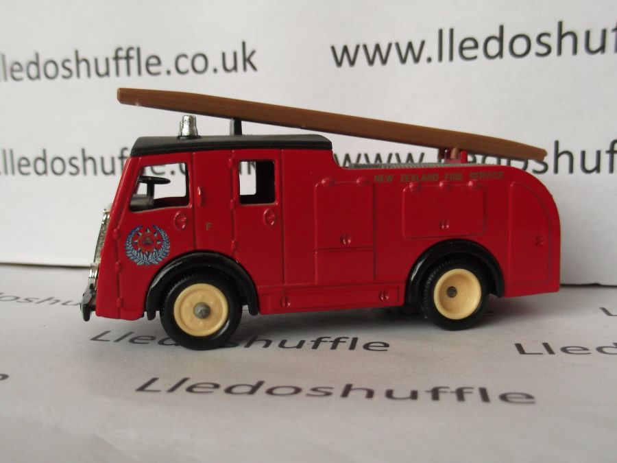 DG60004, Dennis F8 Fire Engine, New Zealand Fire Brigade