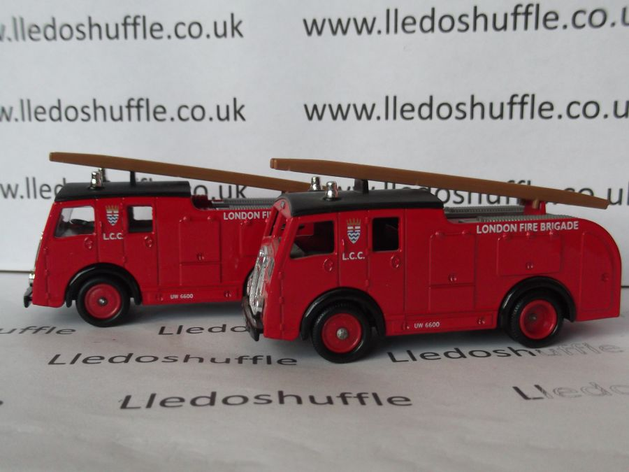 DG60007, Dennis F8 Fire Engine, London Fire Brigade