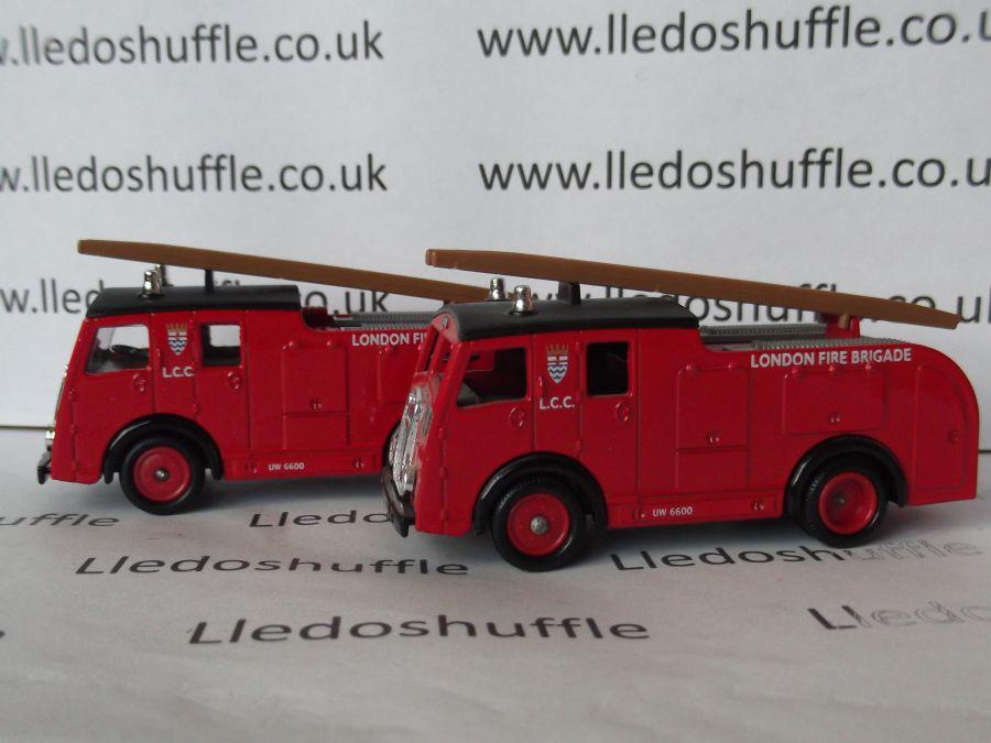 DG60007, Dennis F8 Fire Engine, London Fire Brigade