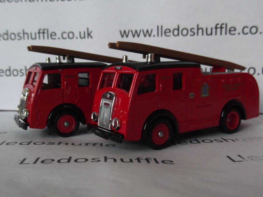DG60011, Dennis F8 Fire Engine, Cheshire Fire Brigade