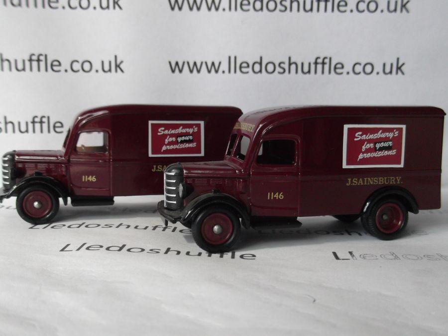 DG63000, Bedford 30cwt Delivery Van, J Sainburys