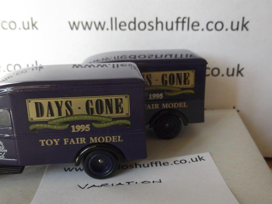 DG63009, Bedford 30cwt Delivery Van, UK Trade Fair 1995