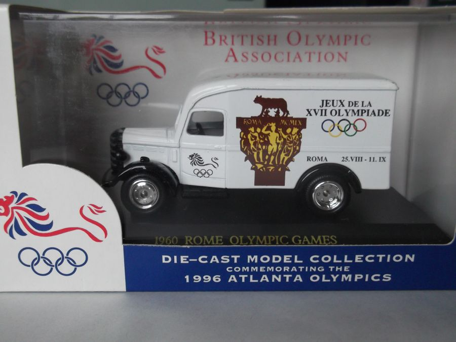 DG63015, Bedford 30cwt Delivery Van, British Olympic Team, Rome 1960