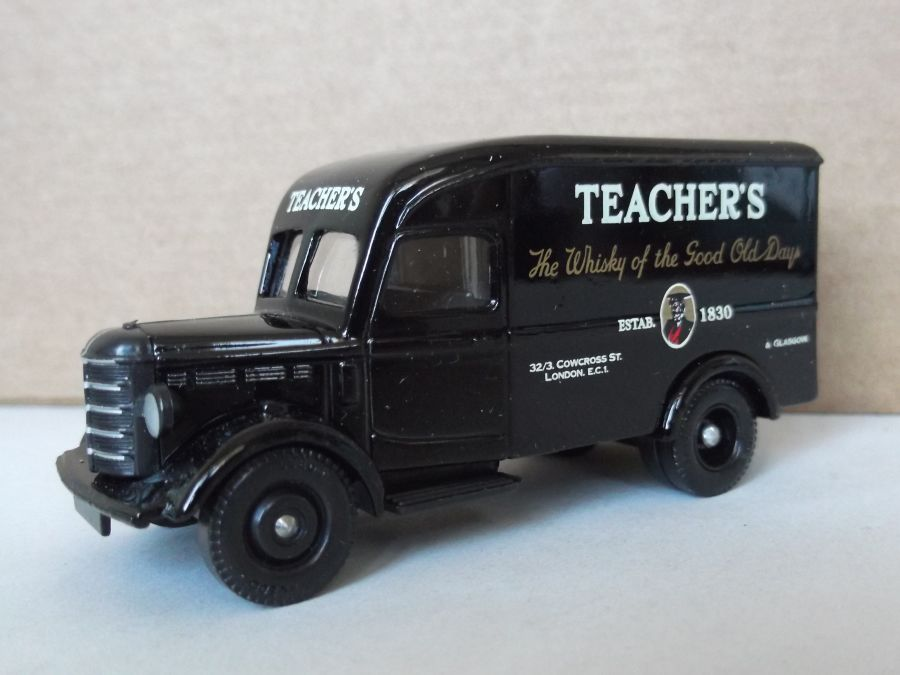 DG63019, Bedford 30cwt Delivery Van, Teachers Whisky