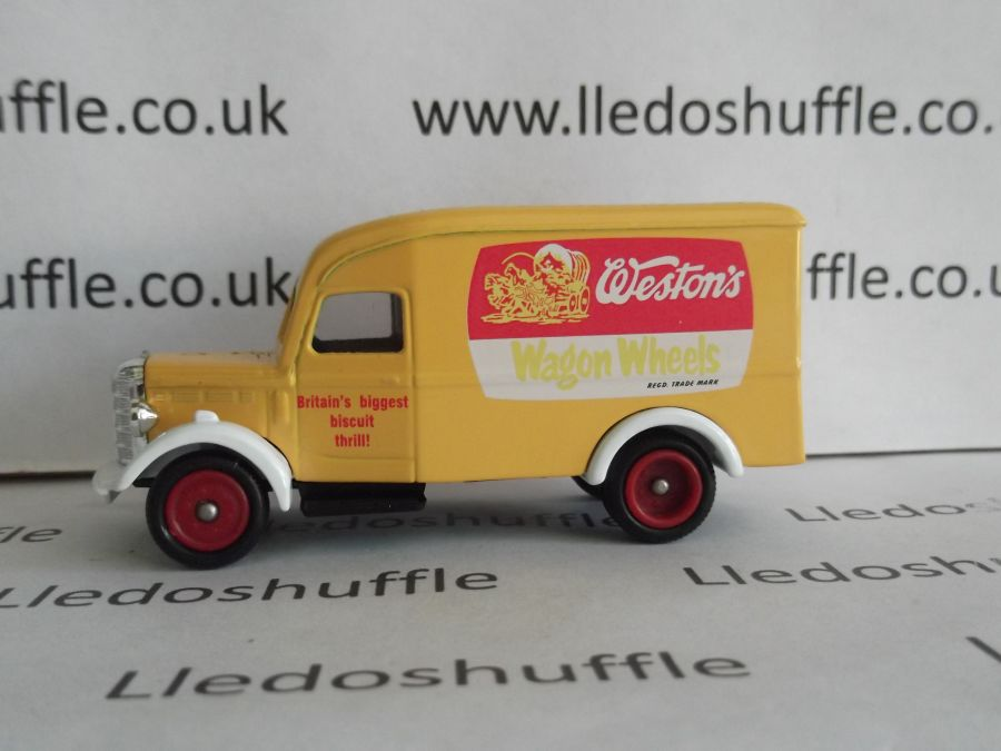DG63026, Bedford 30cwt Delivery Van, Westons Wagon Wheels