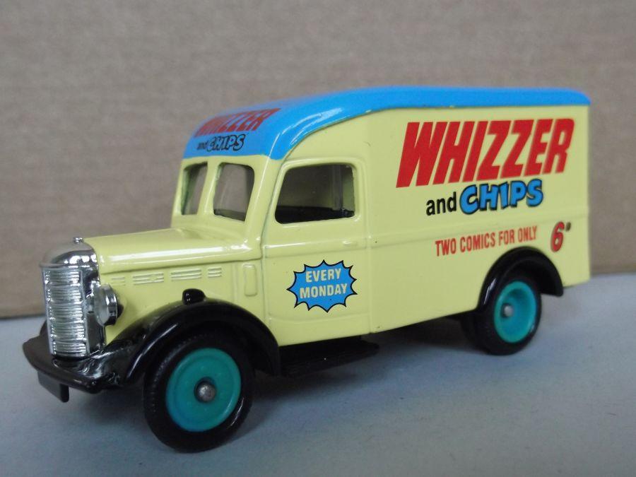 DG63028, Bedford 30cwt Delivery Van, Whizzer & Chips
