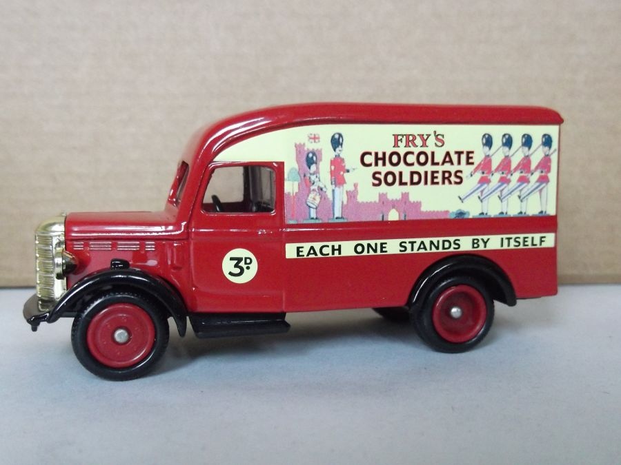 DG63033, Bedford 30cwt Delivery Van, Fry's Chocolate Soldiers