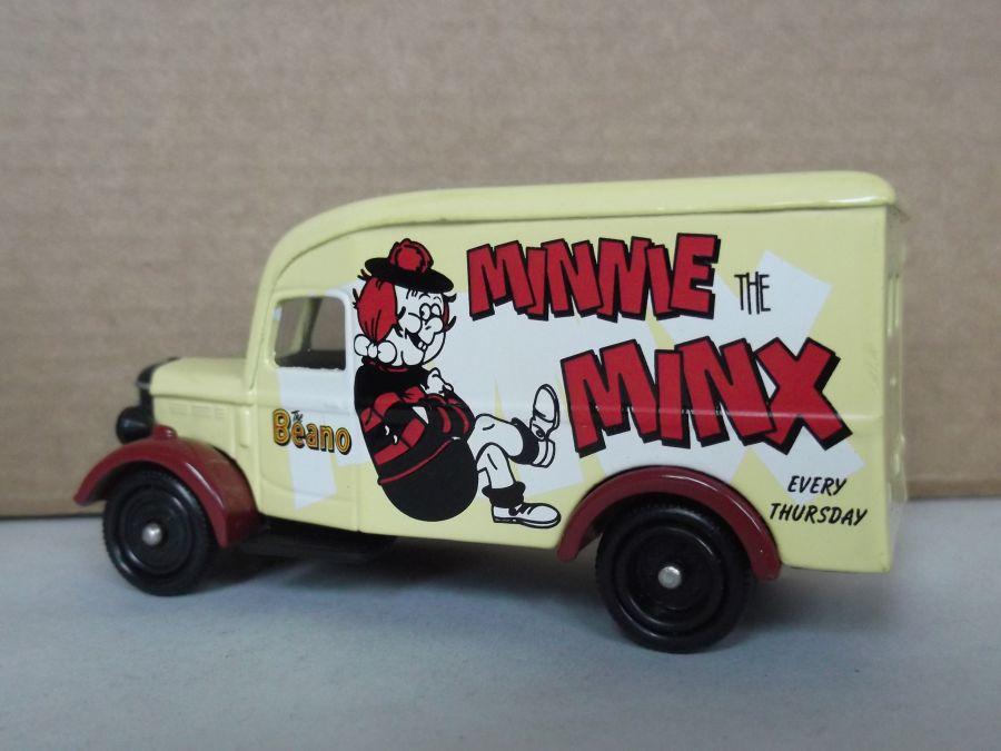 DG63035, Bedford 30cwt Delivery Van, Minnie the Minx