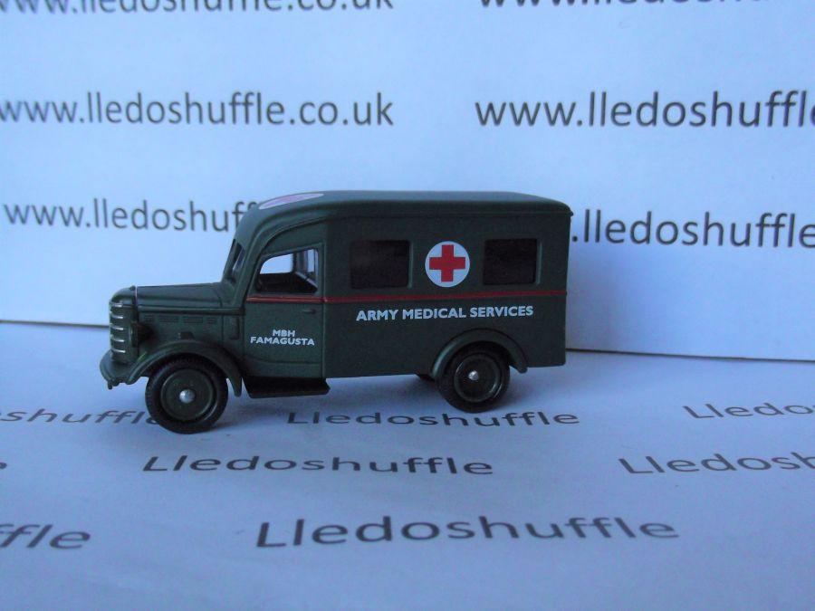 DG64003, Bedford Ambulance, Army Ambulance