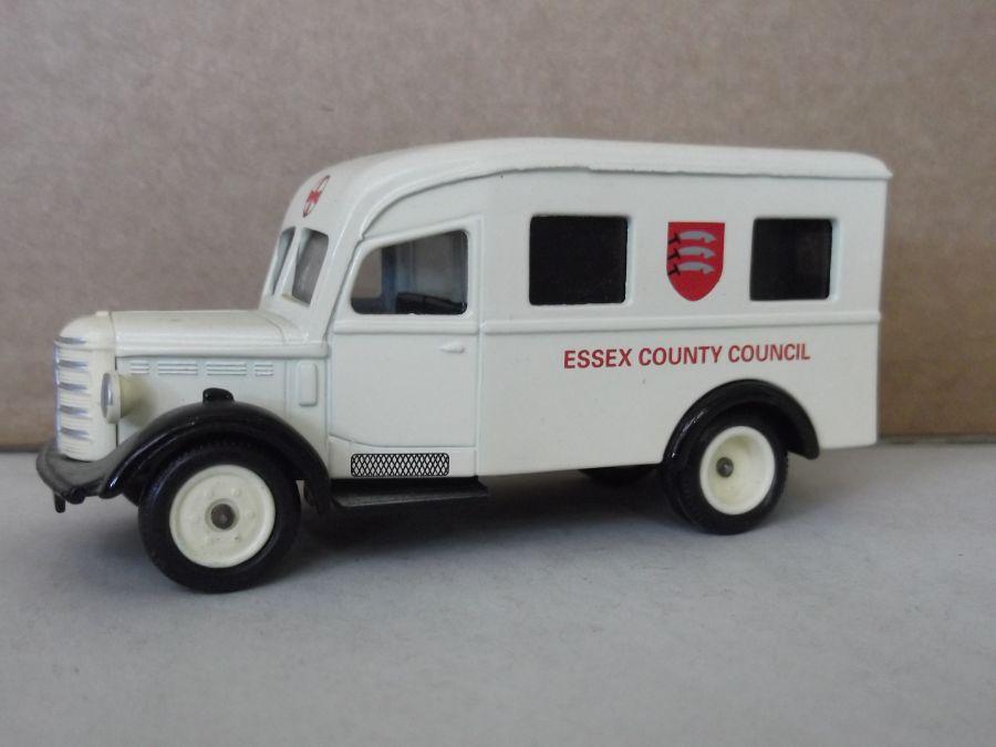 DG64006, Bedford Ambulance, Essex County Council