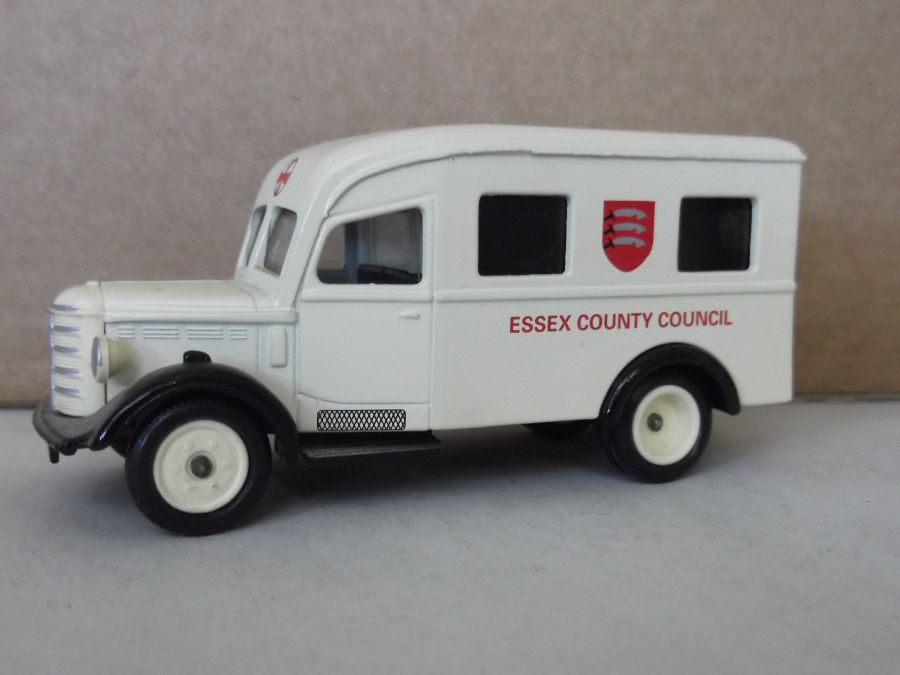 DG64006, Bedford Ambulance, Essex County Council