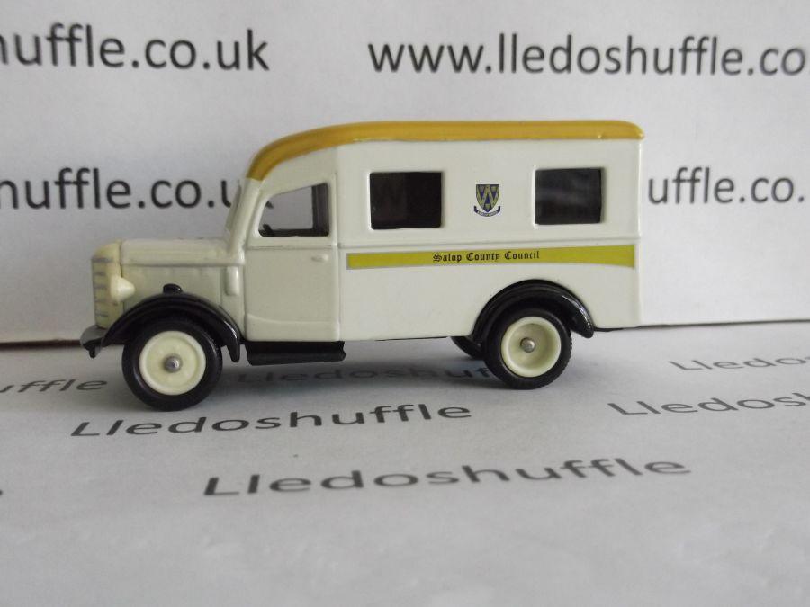 DG64008, Bedford Ambulance, Salop County Council