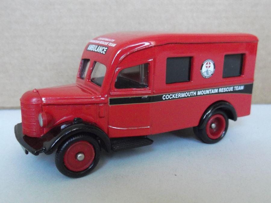 DG64009, Bedford Ambulance, Cockermouth Mountain Rescue Team