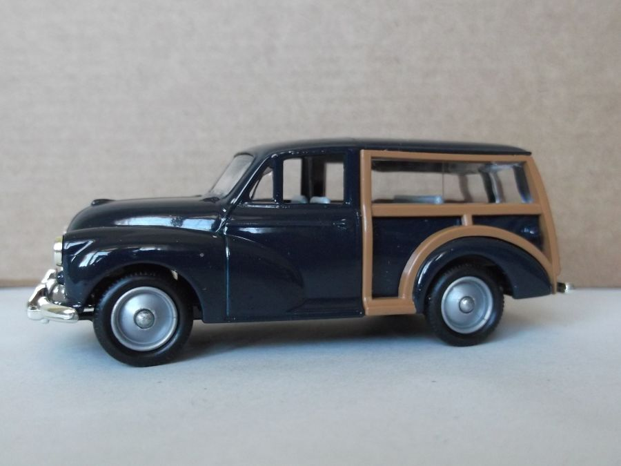 DG65002, Morris Minor Traveller, Blue