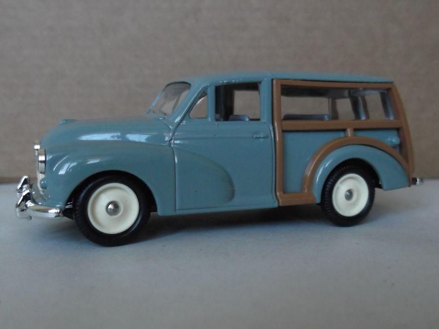 DG65003, Morris Minor Traveller, Smoke Grey