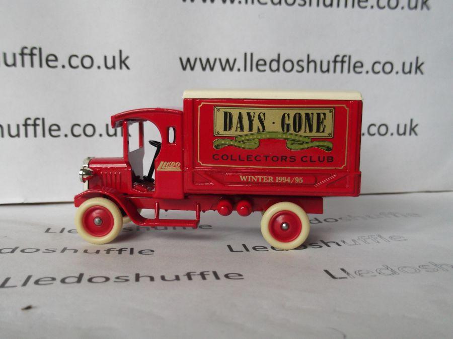 DG66005, Dennis Delivery Van, Club Winter 1994/95