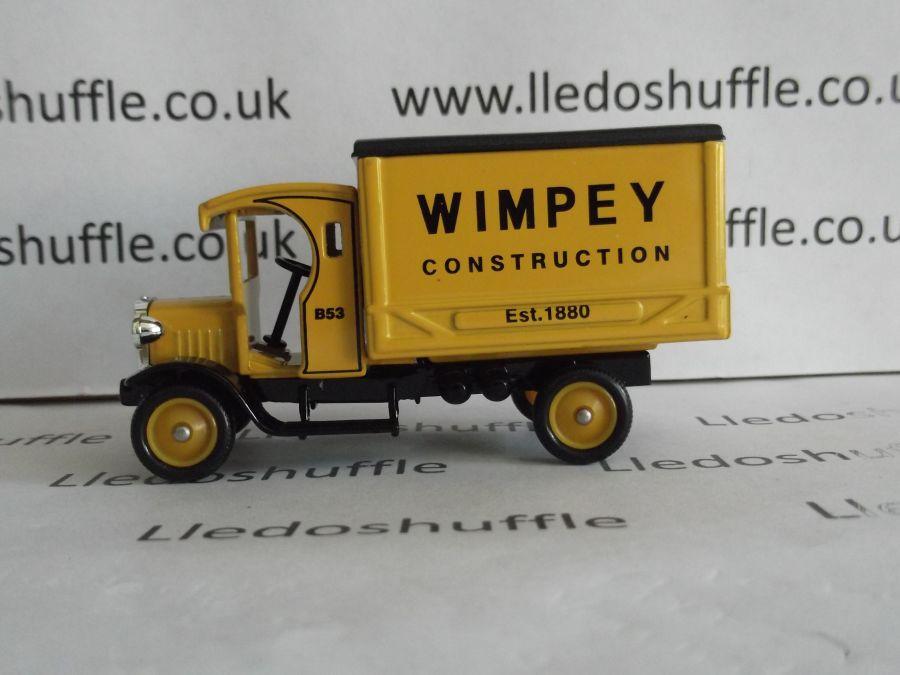 DG66026, Dennis Delivery Van, Wimpey Construction