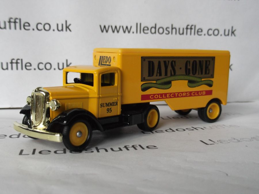 DG67003, Ford Articulated Truck, Club Summer 1995