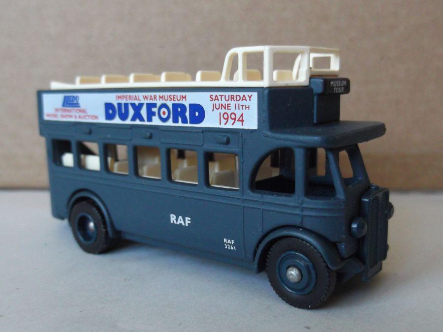 DG68000, AEC Regent Open Top Bus, Duxford 1994