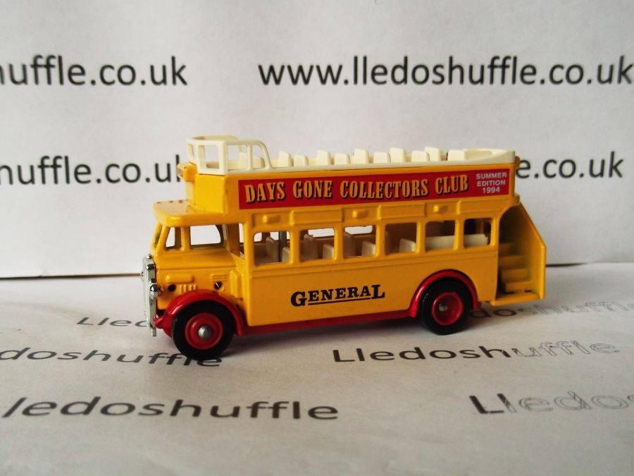 DG68001, AEC Regent Open Top Bus, Club Summer 1994