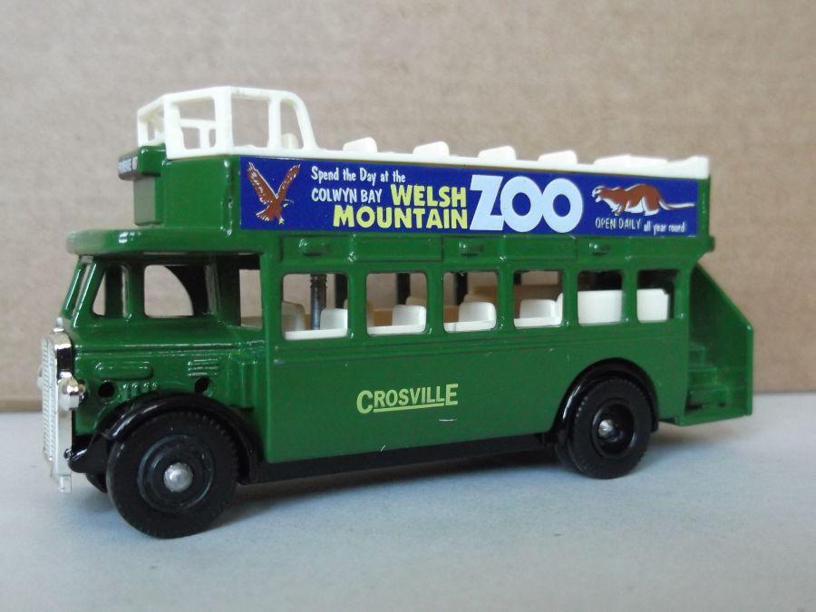 DG68003, AEC Regent Open Top Bus, Crosville / Welsh Mountain Zoo