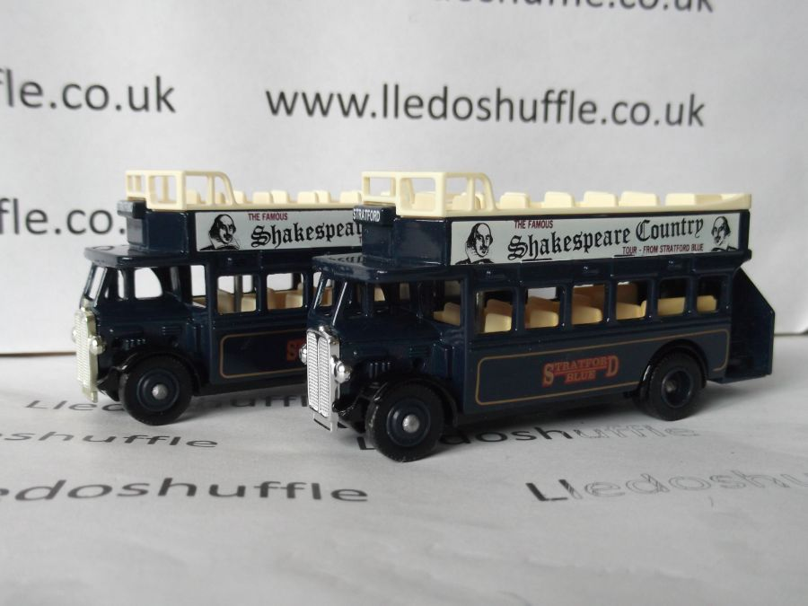 DG68005, AEC Regent Open Top Bus, Stratford Blue, Shakespeare Country