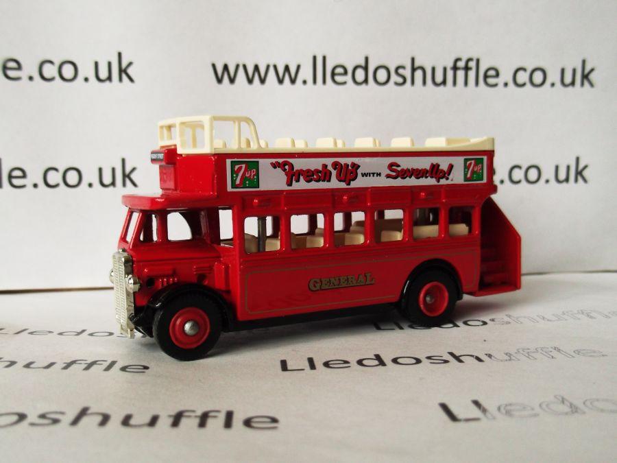 DG68006, AEC Regent Open Top Bus, General, 7 Up