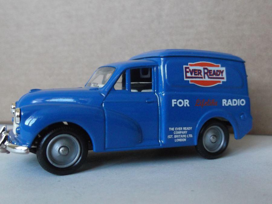 DG69000, Morris Minor Van, Ever Ready Batteries