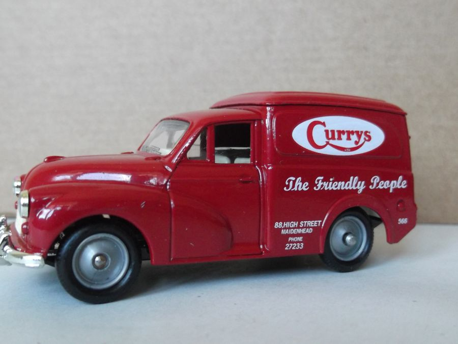 DG69001, Morris Minor Van, Curry's