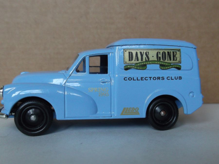DG69002, Morris Minor Van, Club Spring 1995