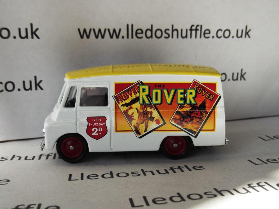 DG71029, Morris LD150 Van, The Rover
