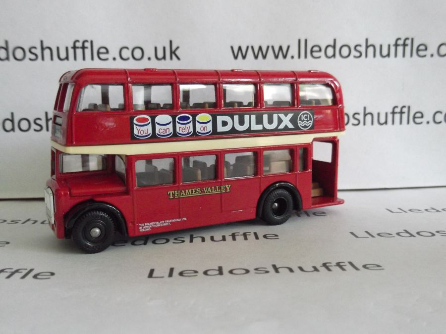 DG75000a, Bristol LD6G Lodekka Bus, Thames Valley, Dulux Paints