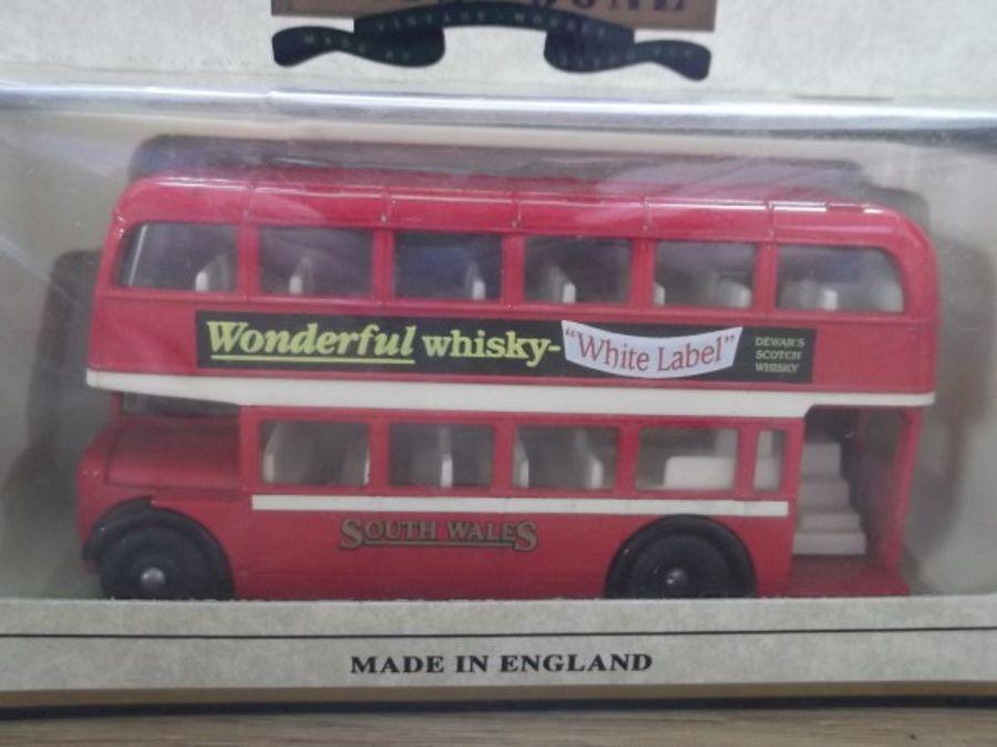 DG75008, Bristol LD6G Lodekka Bus, South Wales, White Label Whisky
