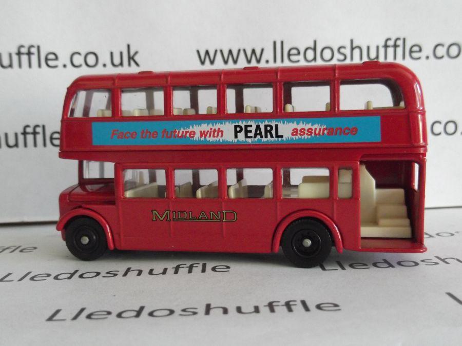 DG75009, Bristol LD6G Lodekka Bus, Midland Red, Pearl Assurance