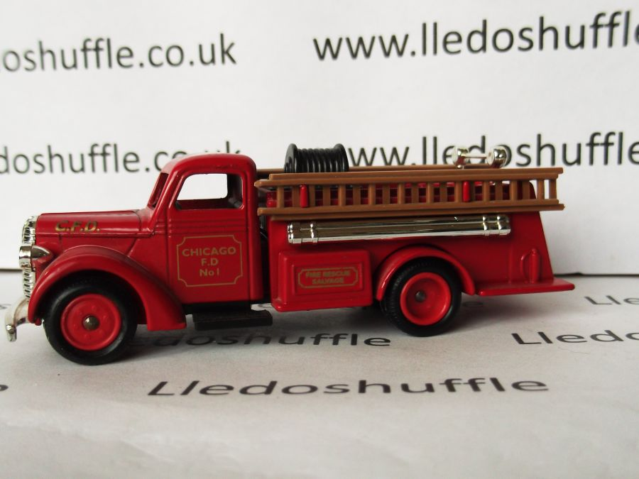 DG79001, Ford Fire Engine, Chicago Fire Department