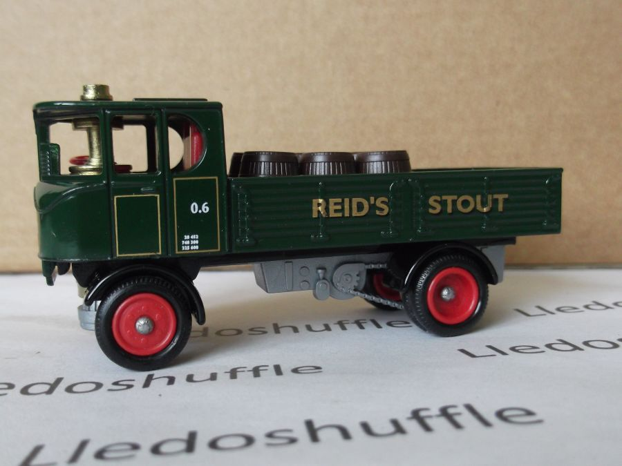 DG88000, Sentinel 4w Dropside Steam Wagon, Watneys, Reids Stout