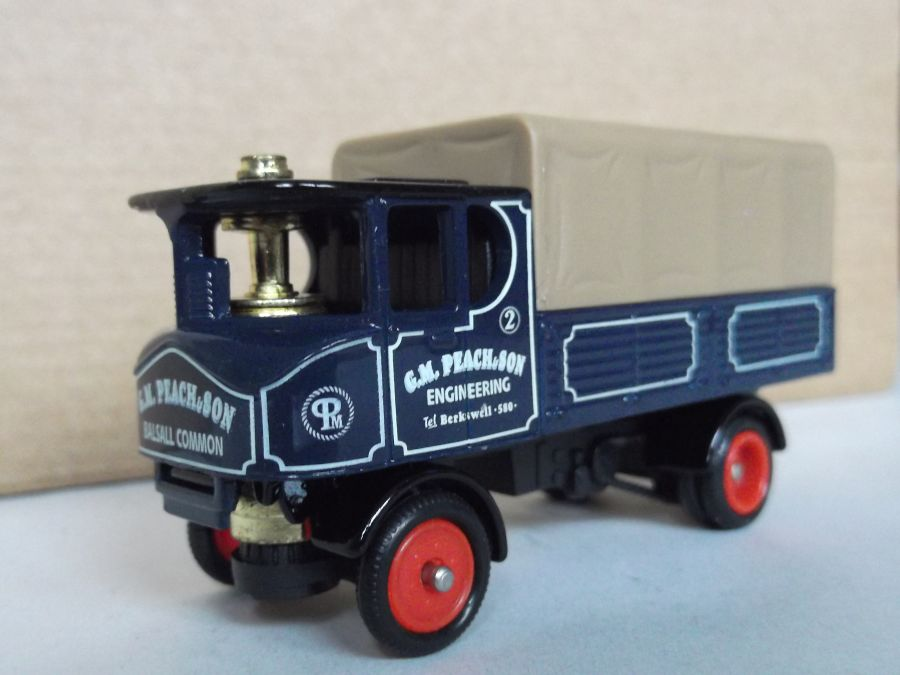 DG88012, Sentinel 4w Dropside Steam Wagon, G M Peach & Son