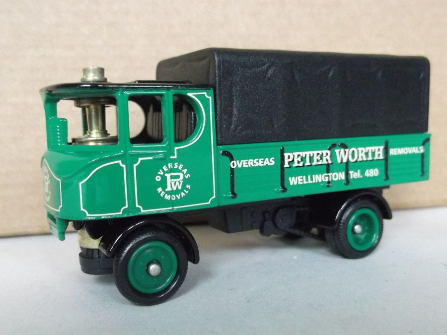 DG88013, Sentinel 4w Dropside Steam Wagon, Peter Worth