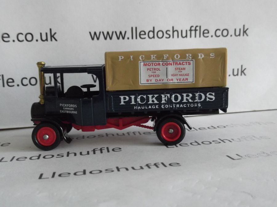 DG91001, Foden Steam Wagon, Pickfords Haulage Contractors