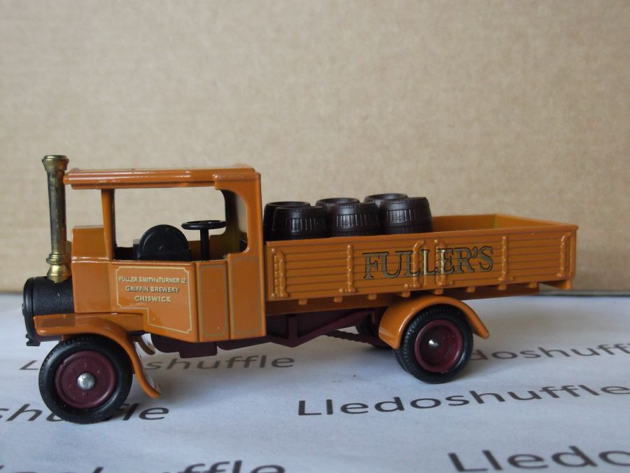 DG91003, Foden Steam Wagon, Fullers