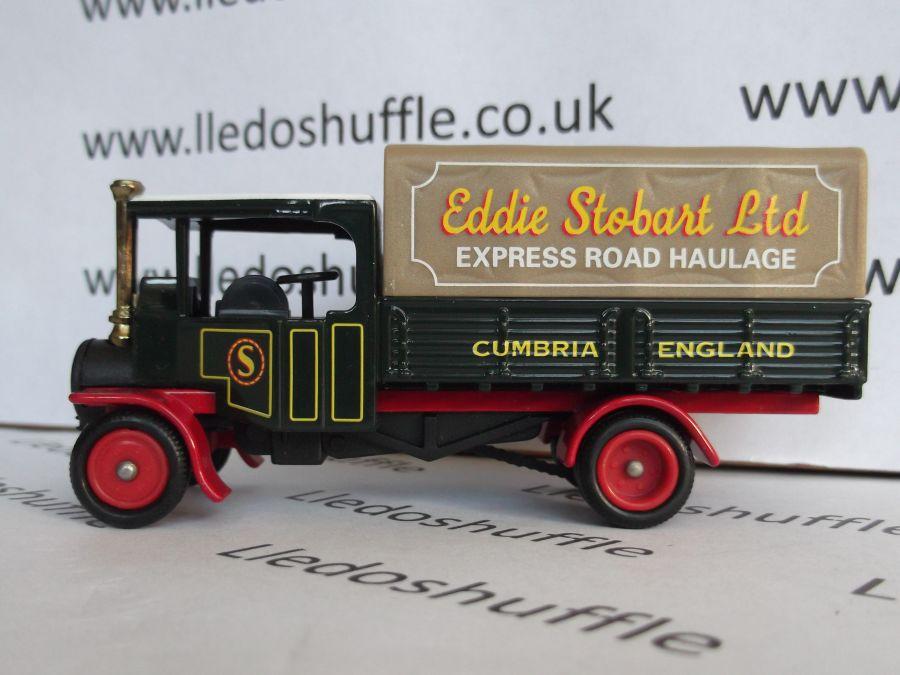 DG91007, Foden Steam Wagon, Eddie Stobart
