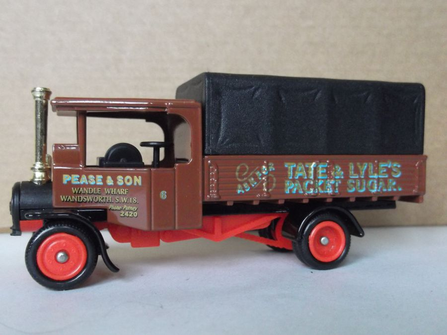 DG91009, Foden Steam Wagon, Tate & Lyles Packet Sugar