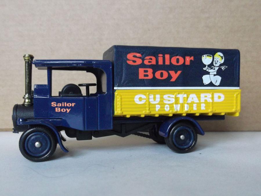 DG91010, Foden Steam Wagon, Sailor Boy Custard Powder