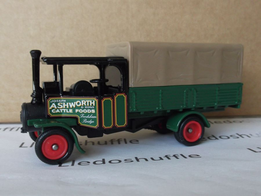 DG91011, Foden Steam Wagon, Joseph Ashworth