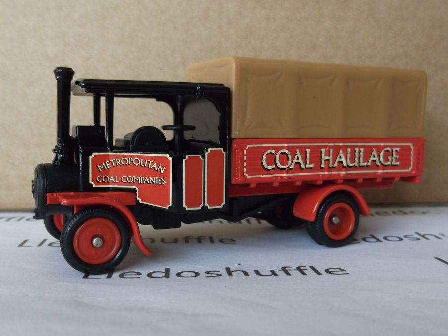 DG91012, Foden Steam Wagon, Metropolitan Coal Haulage