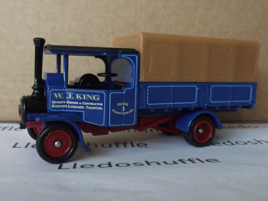DG91015, Foden Steam Wagon, W J King
