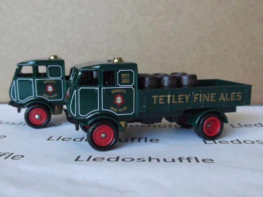 DG97000, Sentinel 4w Dropside Steam Wagon, Tetley Fine Ales